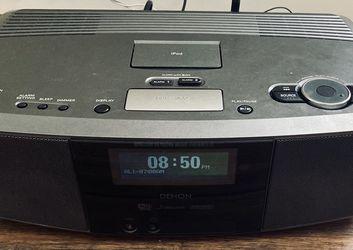 Denon S-32 Wireless Network Clock Internet Radio Wifi Ipod Great Sound for Sale in Easley,  SC