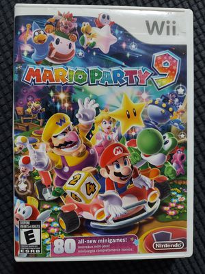 Mario party 9 for wii for Sale in Fresno, CA