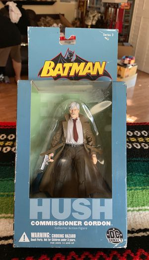 Batman hush commissioner Gordon collectible action figure for Sale in Rancho Cucamonga, CA
