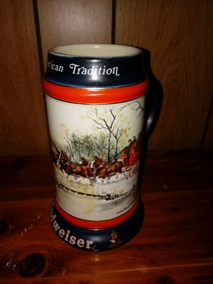 Budweiser Collectable Mugs (set of 8) for Sale in Kingsport, TN