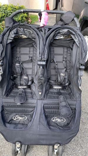 City Mini double stroller with weather-shield and console for Sale in Buena Park, CA