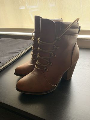 Brown Tie-Up Boots for Sale in Sunrise, FL