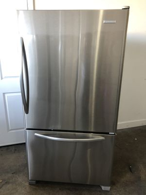 "36"" kitchenAid refrigerador nevera refrigerator Fridge stainless steel good condition 100 days warranty we fix counter depth for Sale in Miami, FL"