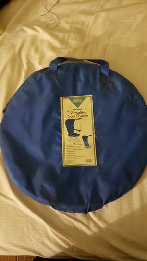 Sun shade & Sleeping bag for Sale in Los Angeles, CA