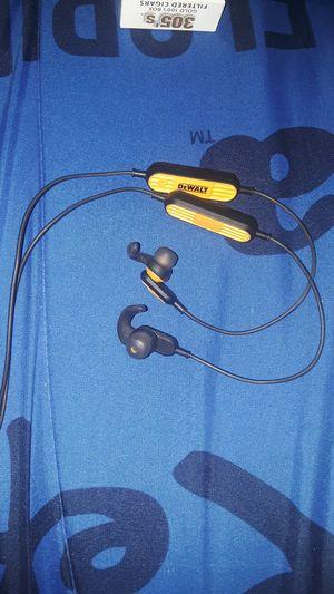 Dewalt bluetooth headset for Sale in Bartow, FL