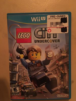 Nintendo Wii U LEGO coty undercover for Sale in Visalia, CA