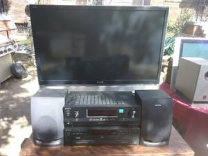 Sony 50 inches DLP TV with remote control and 2 HDMI ports for Sale in Washington, DC