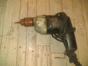 Black and Decker Hard Drill for Sale in Tallahassee, FL