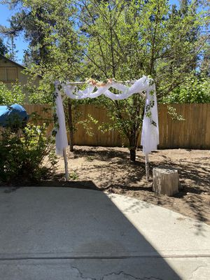 Rustic arch and decoration for Sale in Aliso Viejo, CA