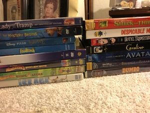 Disney DVDs Awesome Titles lot of 16 for Sale in Lakeside, CA