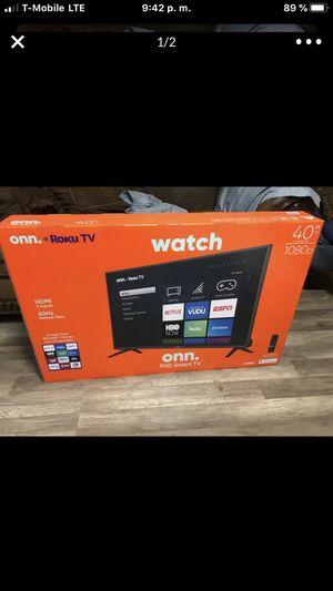 "Roku smart Tv ( firm price )40""! Precio firme for Sale in Irving, TX"