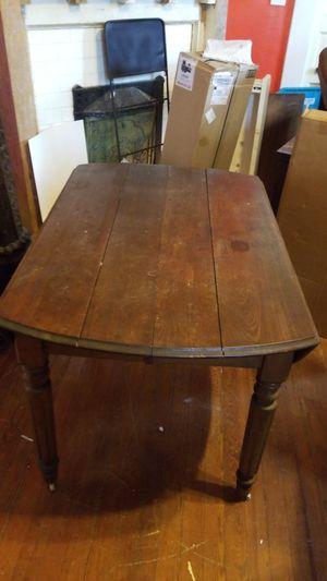 Antique folding round table for Sale in Roebuck, SC