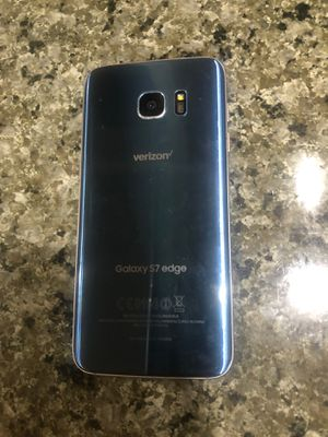 Samsung s7 edge Verizon unlocked for Sale in Lynnwood, WA