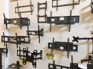 New in box price $5 to $45 max 22 to 85 inches fixed tv full motion swivel television wall mount stand for Sale in Baldwin Park, CA