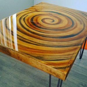 Vertigo Swirl Table (optional sizes) for Sale in Los Angeles, CA