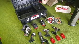 Craftsman 19.2 volt Power Tools with Toolbox for Sale in St. Louis, MO