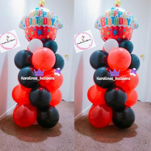Balloon columns 😊🎈🥳 party decoration for Sale in Corona, CA