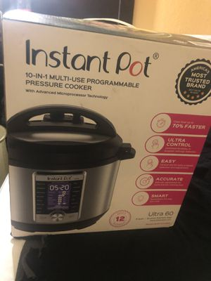 Instant Pot 10 in 1 for Sale in Rancho Cucamonga, CA