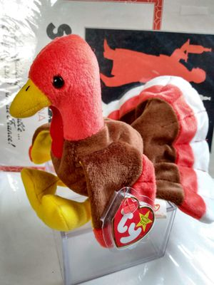 Gobbles beanie baby for Sale in Tacoma, WA