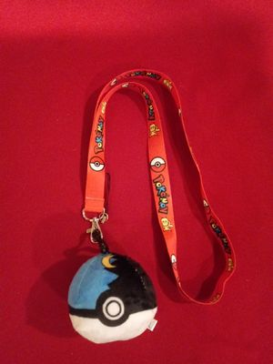 Pokemon Lynyrd with keychain plush ball for Sale in Pico Rivera, CA