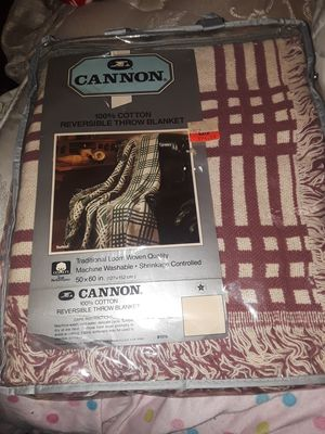 New Cannon Throw Blanket for Sale in Virginia Beach, VA