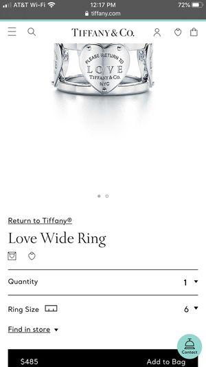 Tiffany ring for Sale in Orange, CA