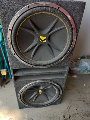 Kicker subs ...fosgate amps for Sale in Bedford, TX