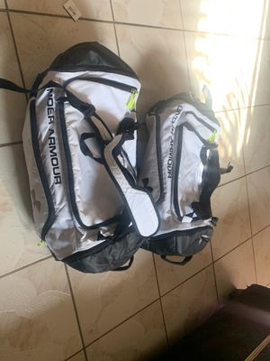 2 Under armour storm duffle bags/ backpacks for Sale in Fontana, CA