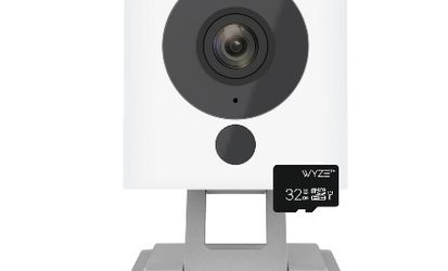 Wyze 1080p Indoor Wi-Fi Security Camera, 32GB Card, Alexa and Google Enabled Free 14-Day Cloud Storage Night Vision for Sale in Atlanta,  GA