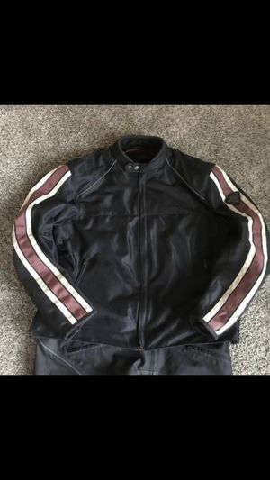 TRIUMPH Motorcycle Jacket and pants for Sale in Troutdale, OR