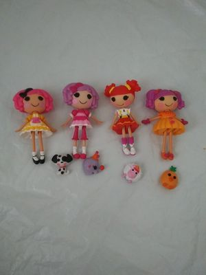 Lot 4 Lalaloopsy Dolls with pets.. Pick up 120th for Sale in Denver, CO