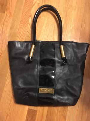 Badgley Mischka Purse Black and Gold for Sale in Leominster, MA