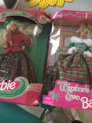 Two Christmas barbies for Sale in Wallingford, CT