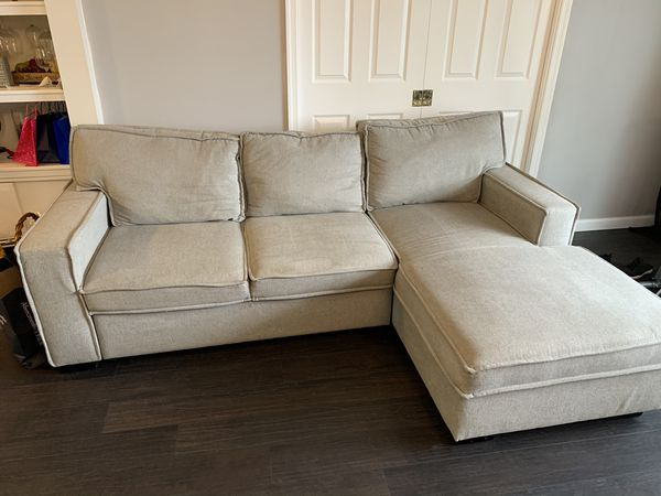 Sectional sofa (pull out bed and storage)