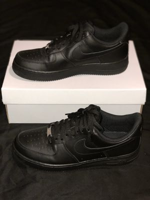 Men's Black Airforce 1's size: 9.5 OBO for Sale in Reedley, CA