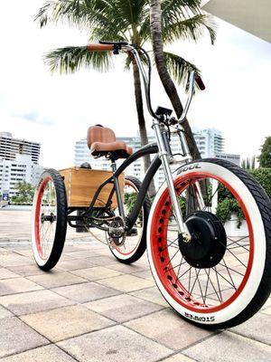 1500w custom Electric tricycle bike fat tire for Sale in Miami Beach, FL