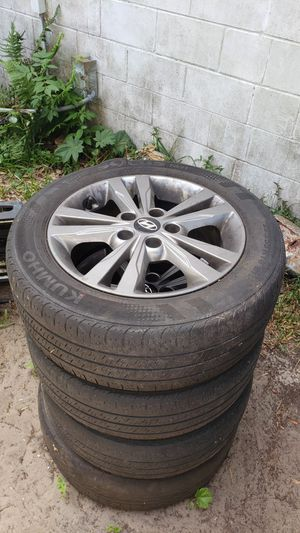 "4 Rims and Tires 16"" Fits Ford, Honda, Hyundai and more for Sale in Jacksonville, FL"