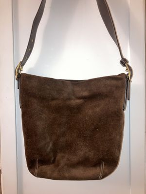 Great Condition Coach Brown Suede Satchel! for Sale in Claremont, CA