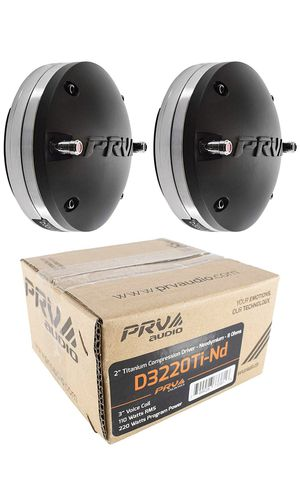 2X PRV Audio D3220TI-ND Compression Driver Magnet 440 Watts 8 Ohm Pro Car Audio for Sale in Barnegat, NJ