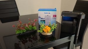 Top fin 10 gal aquarium filter/ filters included/ tank decorations for Sale in Boynton Beach, FL