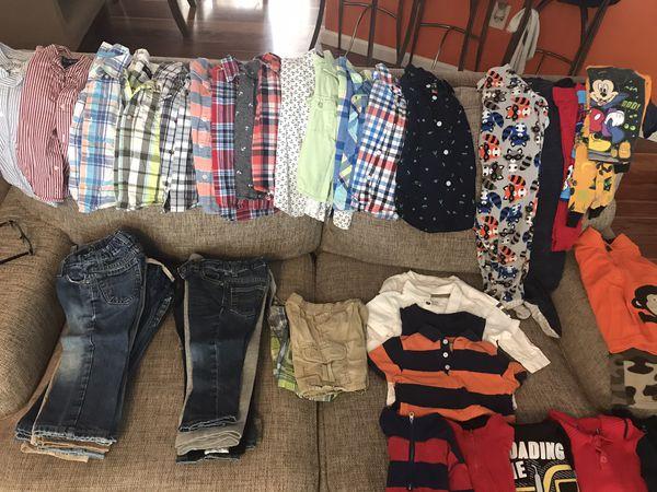 Boys bundle clothes, size, 2T