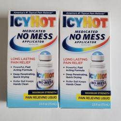 2 Icy Hot No Mess Applicator for Sale in Santa Ana,  CA