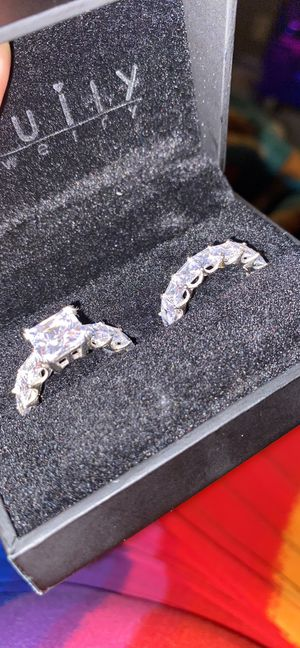 Engagement and wedding ring set for Sale in Atlanta, GA