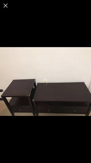 Coffee table and end side table for Sale in Fairfax, VA
