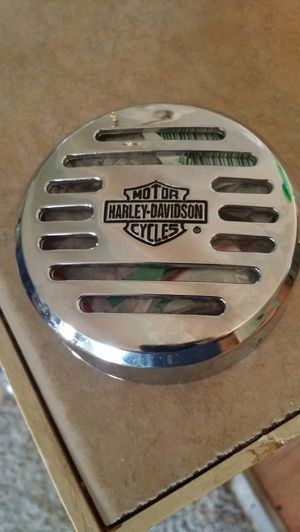 I am selling a horn cover for a Harley Davidson motorcycle for Sale in Fremont, OH