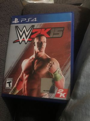 Wwe 2k 15 for Sale in Riverside, CA