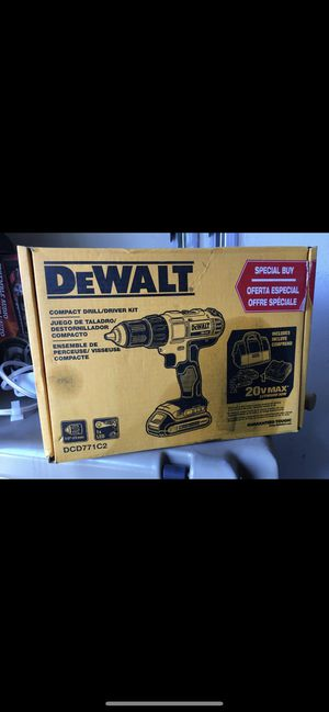 Dewalt compact drill brand new never used. for Sale in Grandview, WA