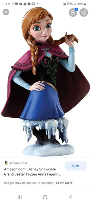 Disney Showcase Grand Jester Frozen Anna Figurine for Sale in Las Vegas, NV