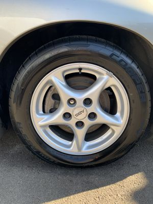245/50/16 rims and tires for Sale in Portland, OR