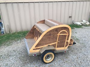 Custom trailer for Golf Cart or Motorcycle for Sale in Somerset, OH